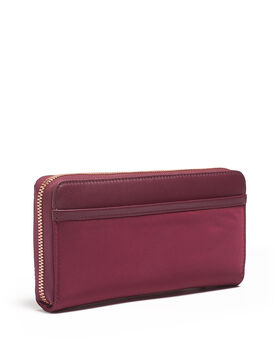 Kontinentale Brieftasche mit Rundumreißverschluss Voyageur Slg