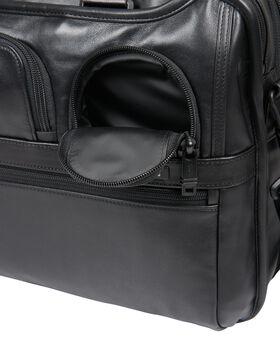 Organizer Laptop-Aktentasche aus Leder (erweiterbar) Alpha 2