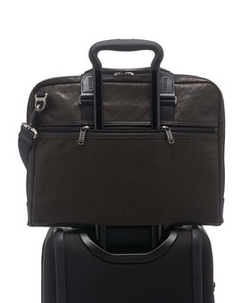 Aviano Slim Brief Leather Alpha Bravo