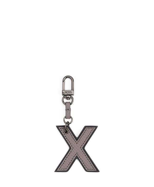 Tumi Womens Accents Letter Charm - X