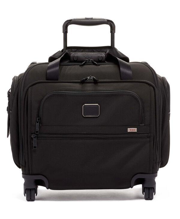 Alpha 3 Kompakte Reisetasche auf 4 Rollen