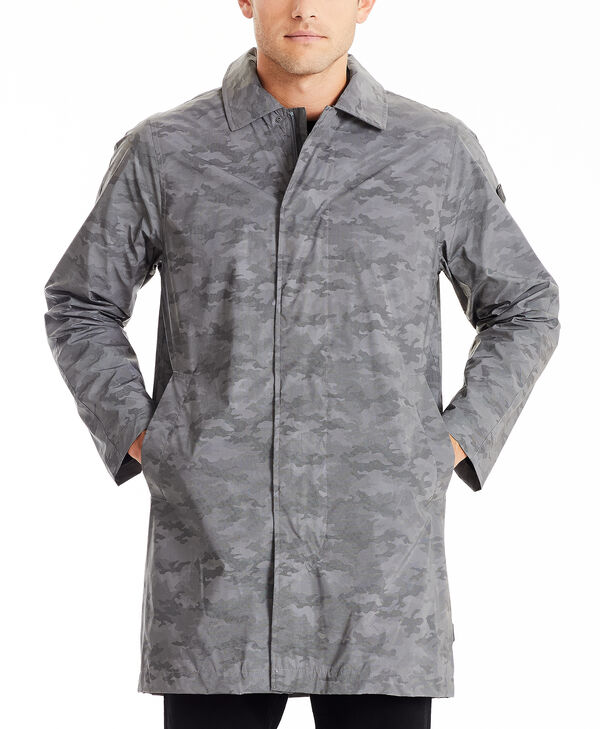 TUMIPAX Outerwear Men's Reflective Rain Coat L