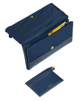 Kontinentale Brieftasche mit Umschlagklappe Voyageur