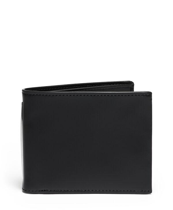 Donington Slg Globale Brieftasche mit zwei Scheinfächern