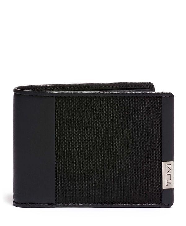 Alpha Brieftasche mit 2 Scheinfächern