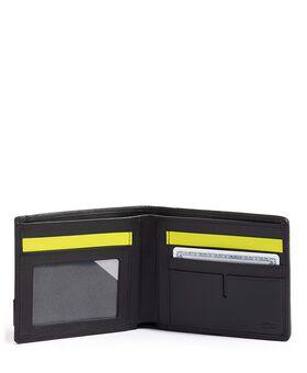 Globale Brieftasche mit 2 Scheinfächern Alpha
