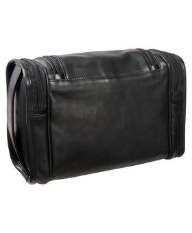 Kulturtasche aus Leder (zum Aufhängen) Alpha 2