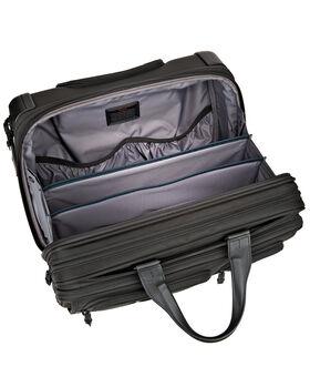 Deluxe Aktentasche auf 4 Rollen mit Laptophülle Alpha 2